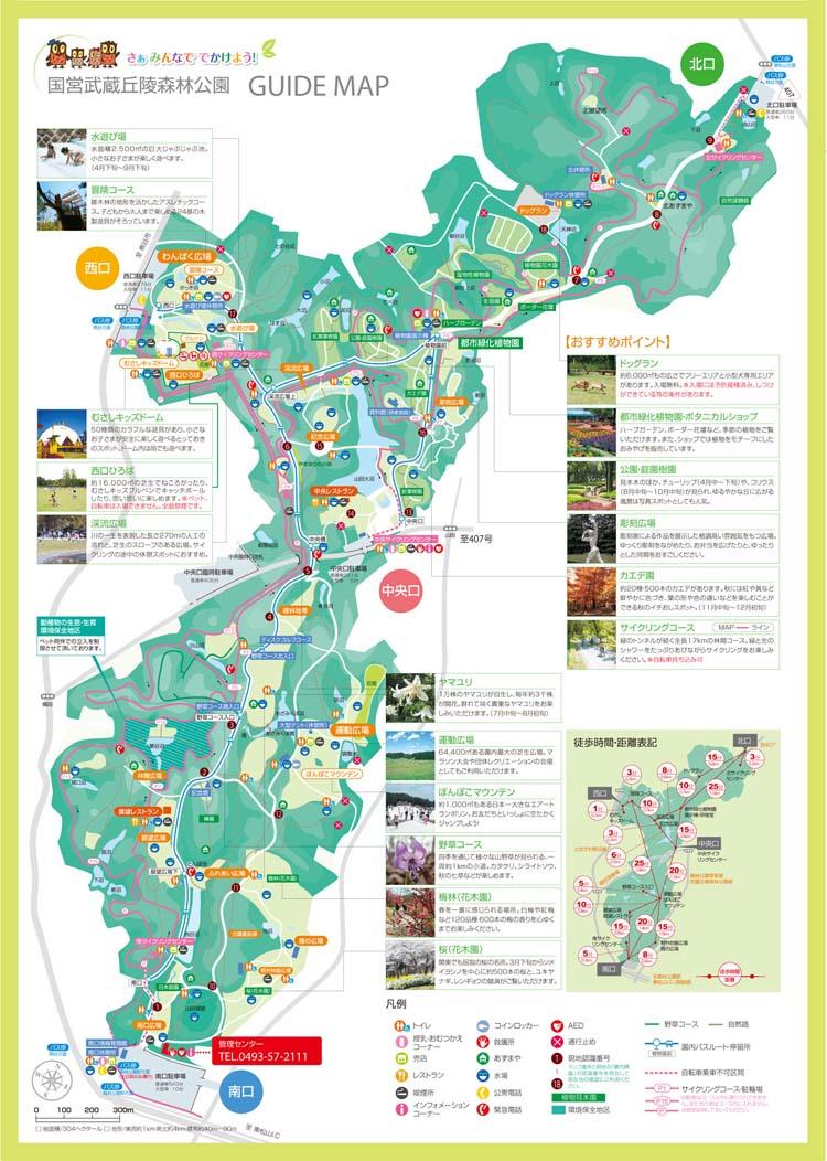 国営武蔵丘陵森林公園(埼玉県比企郡滑川町・熊谷市)/公園へ行こう!