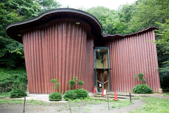 トーベ・ヤンソンあけぼの子どもの森公園 森の家 トーベ・ヤンソン資料館